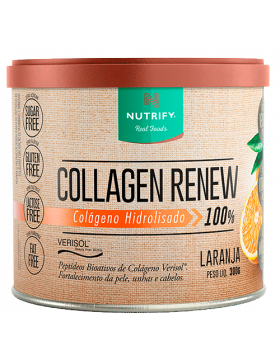 COLLAGEN RENEW NUTRIFY 300 GR SABOR LARANJA