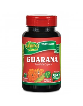 GUARANÁ UNILIFE 60 CÁPSULAS 500 MG